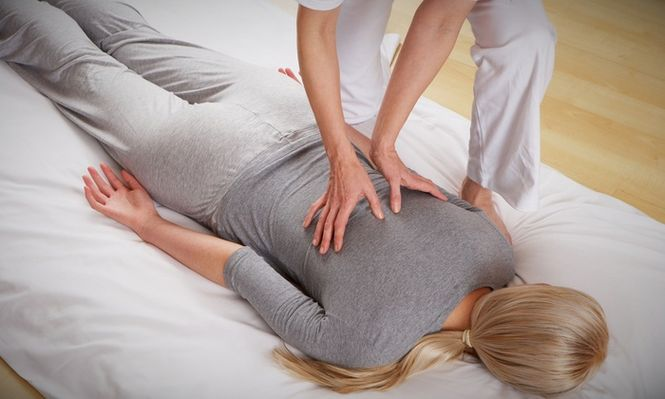 Shiatsu massage clothed session